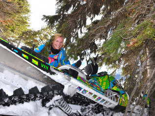 Back Country Rider Stephanie Santeford
