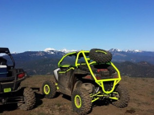 VEI TIRE RACK AND BUMPER FOR WILD CAT TRAIL