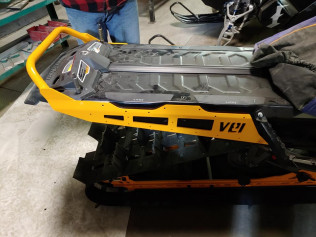 NEW SKI DOO EXPERT SHORT REAR BUMPER